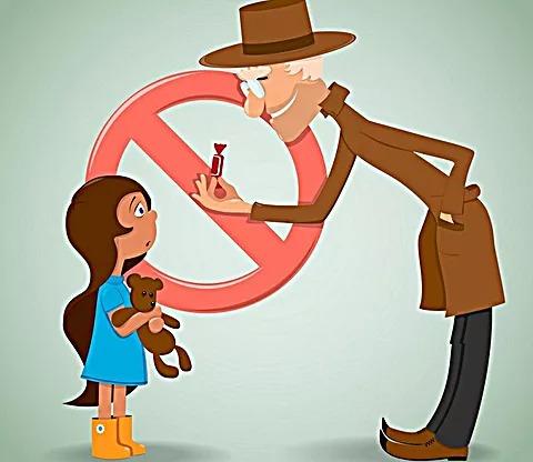 Памятка для детей «Осторожно незнакомец»